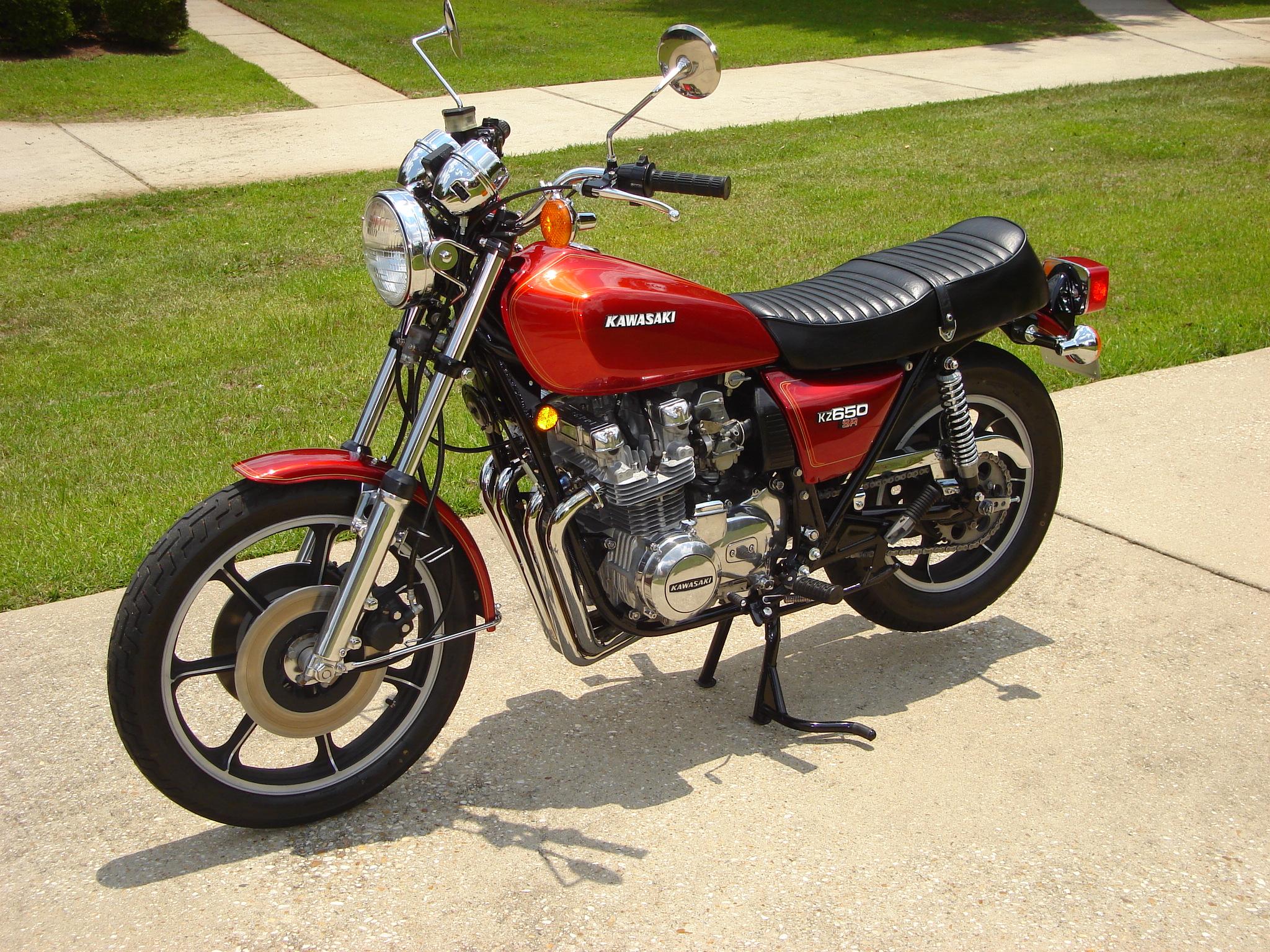 1978 (K)Z650-D1(SR)